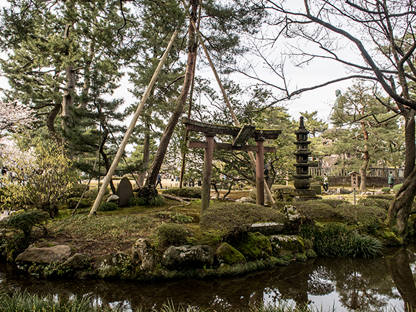 Kanazawa park during the day