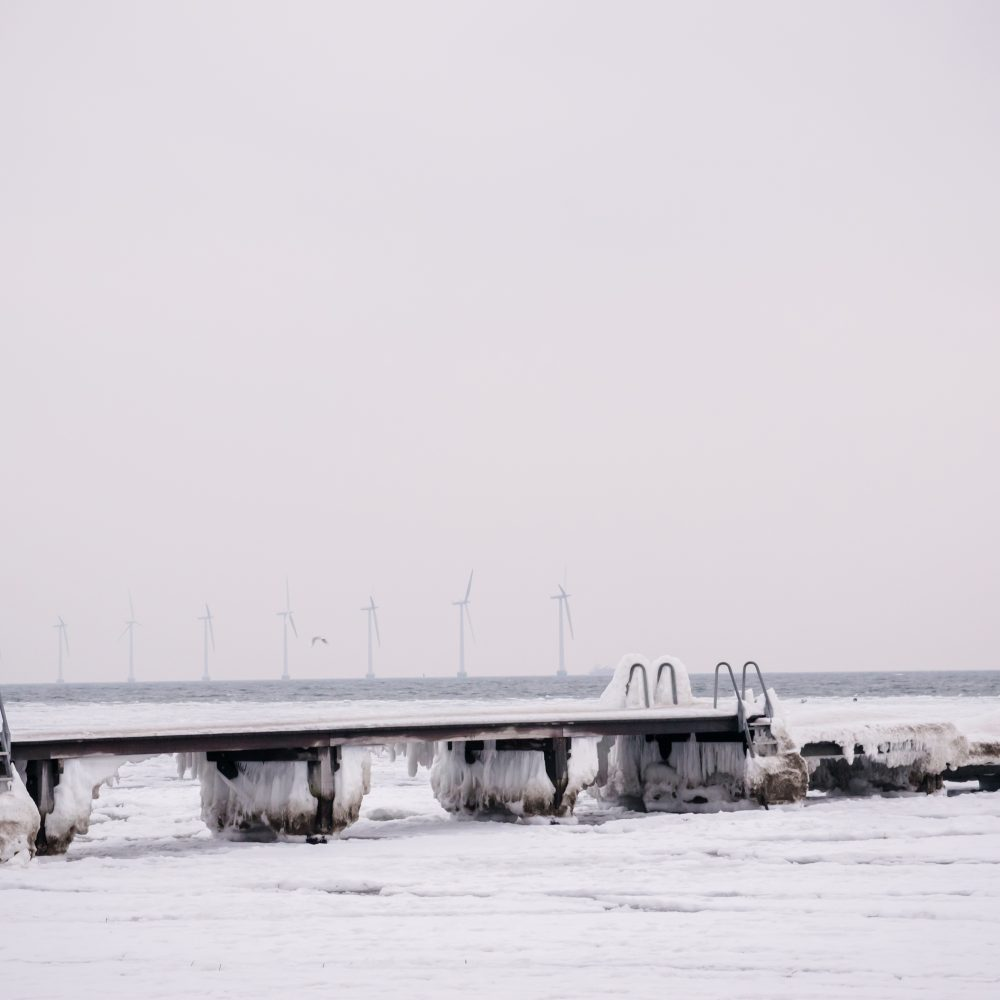 Amager Strand in winter