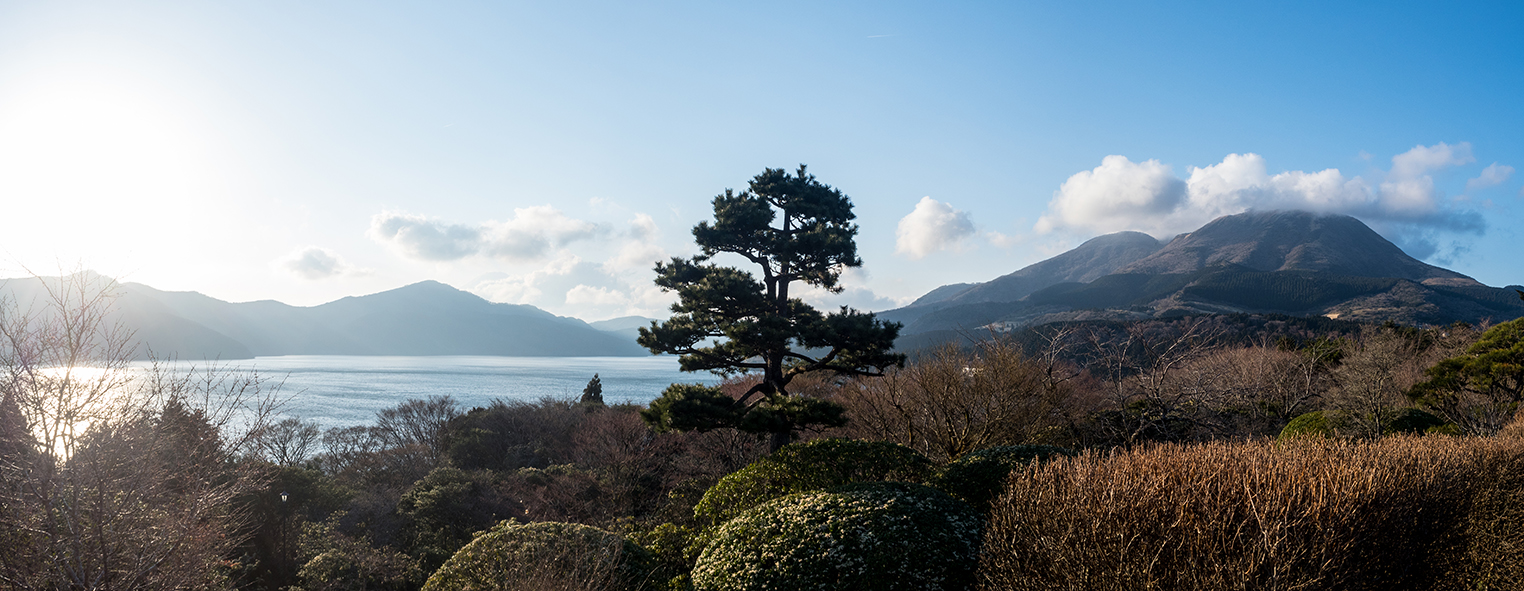 View from Hakone checkpoint