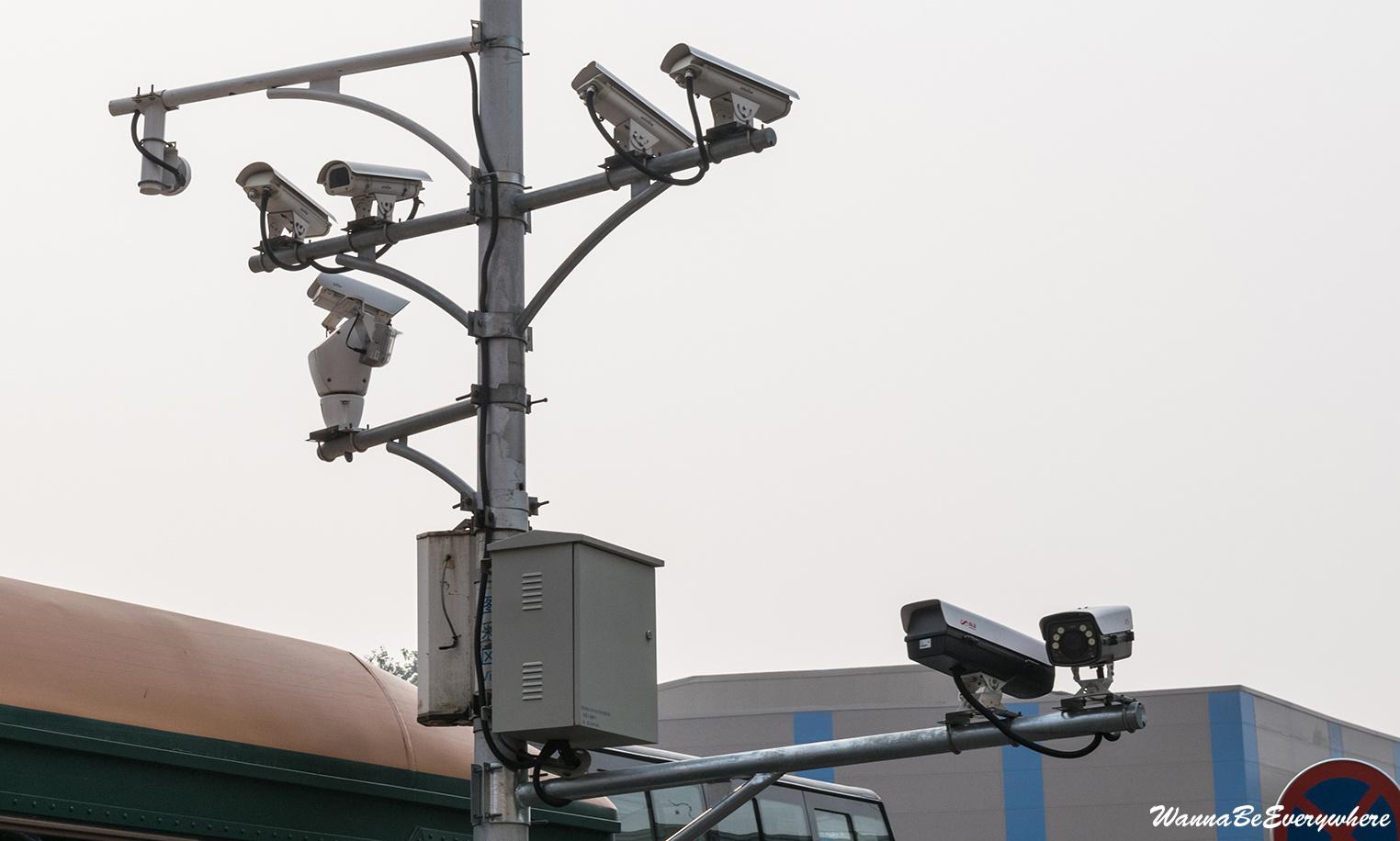 Cameras in Beijing