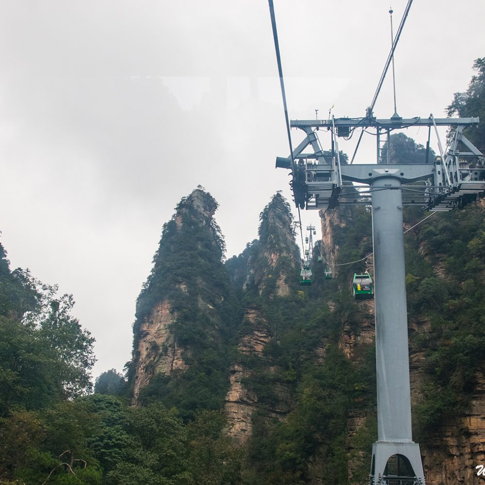 Huangshizhai Cable Car