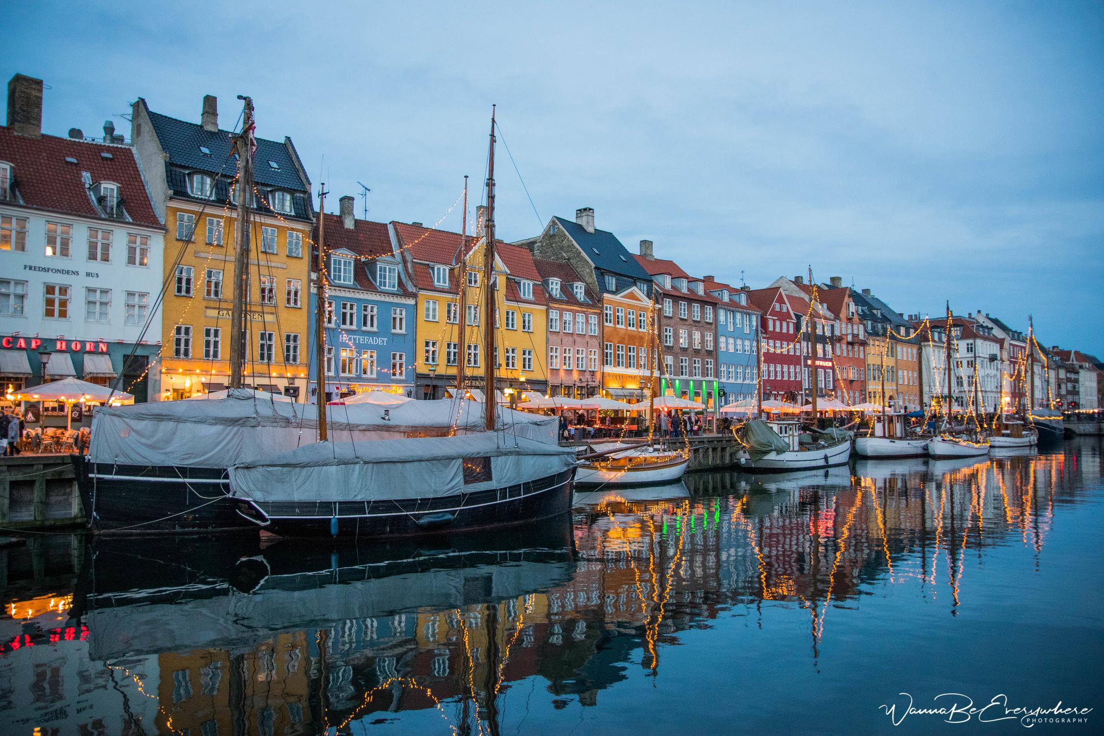 Nyhavn in Denmark