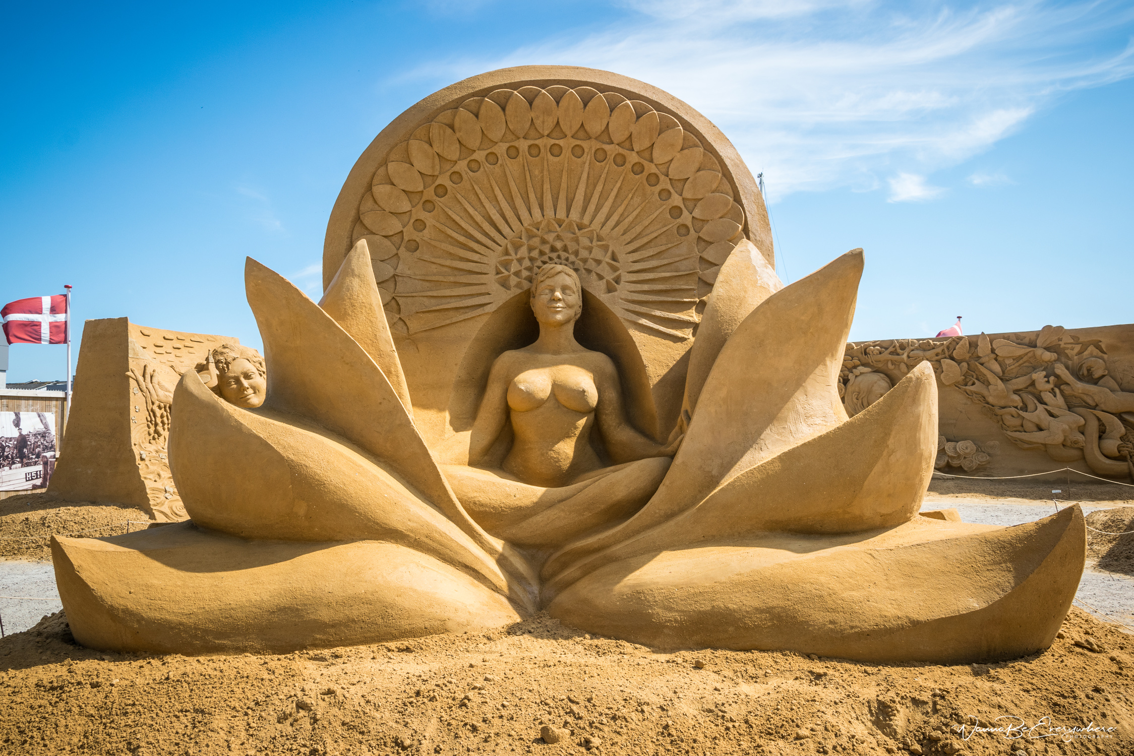 Hundested Sand Sculpture Festival in Denmark