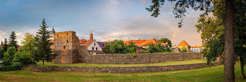 medieval walls Kożuchów