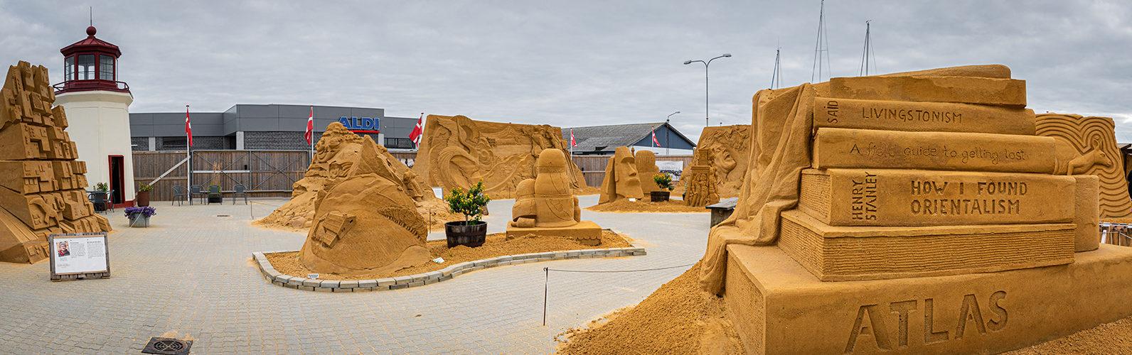 Hundested Sandskulptur Festival 2021